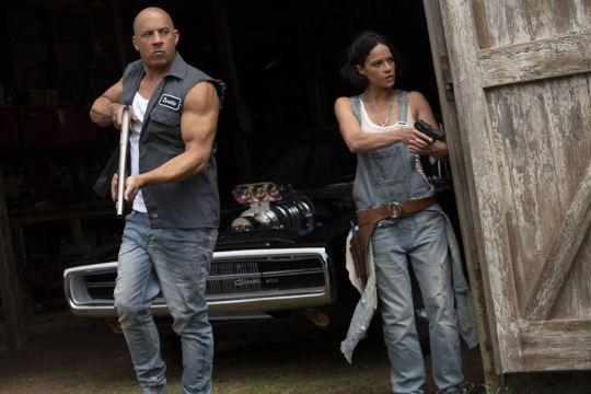 Fast & Furious 9: Michelle Rodriguez, Vin Diesel
