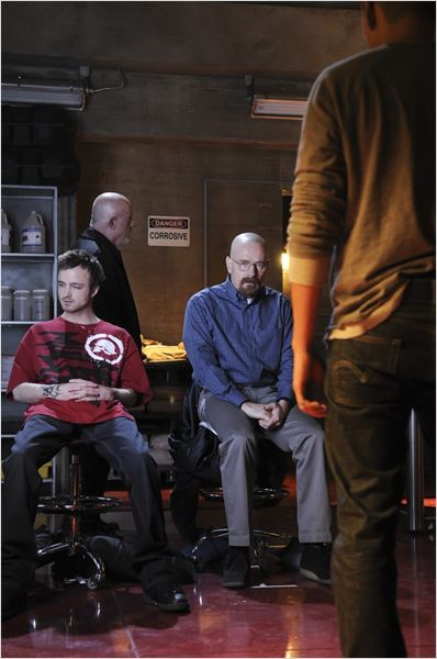 Breaking Bad : photo Aaron Paul, Bryan Cranston, Giancarlo Esposito, Jonathan Banks