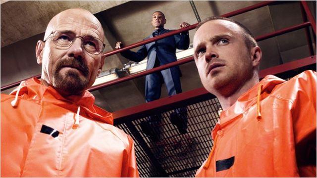 Breaking Bad : photo Aaron Paul, Bryan Cranston, Giancarlo Esposito