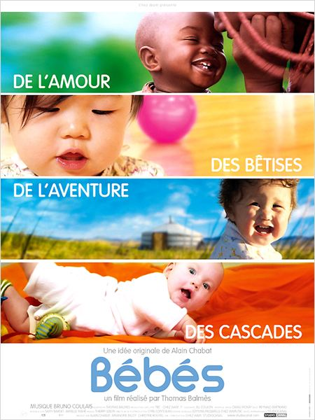 Bébés : affiche