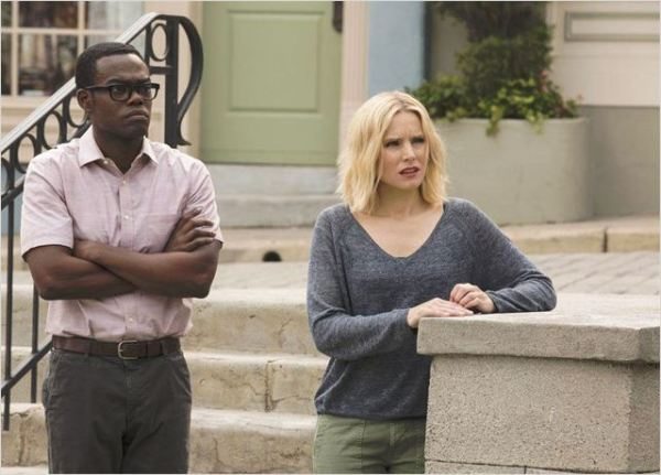 Photo Kristen Bell, William Jackson Harper © Justin Lubin/NBC