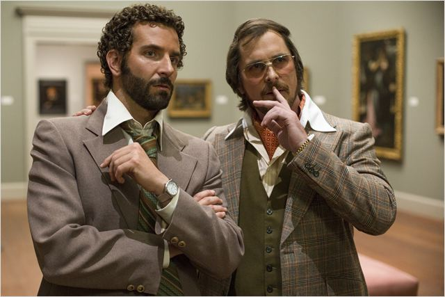 American Bluff : Photo Bradley Cooper, Christian Bale