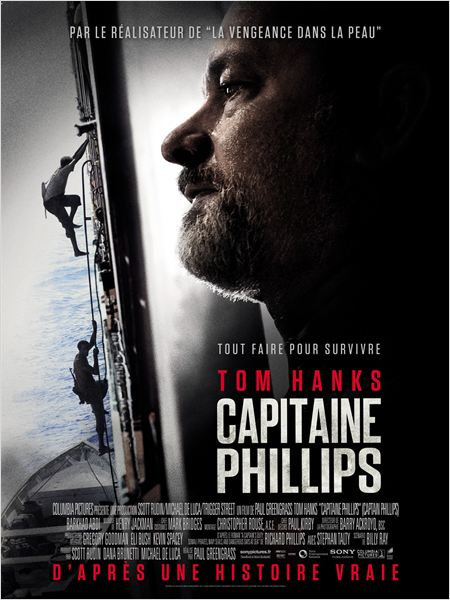 Capitaine Phillips : Affiche