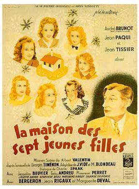 La Maison des sept jeunes filles - film 1942 - AlloCiné