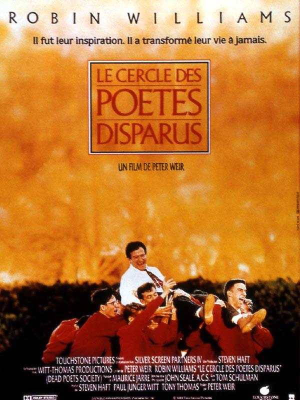 Le Cercle Des Poete Disparu : cercle, poete, disparu, Achat, Cercle, Poètes, Disparus, AlloCiné