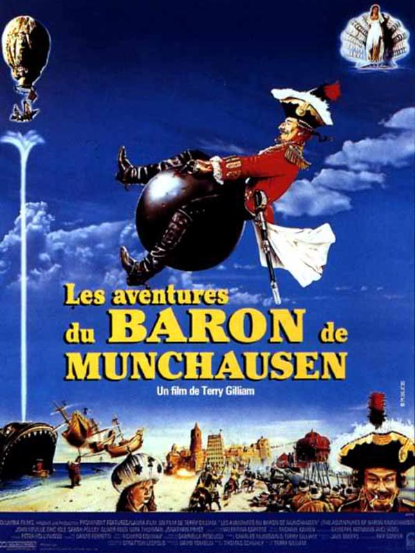 """""""Les Aventures du Baron de Munchausen"""" : vive l"""