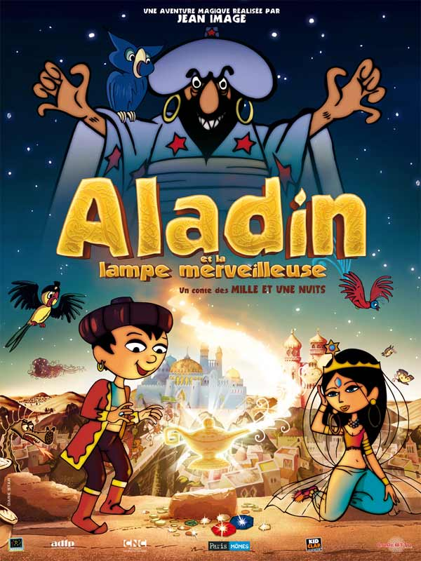 Aladdin Et La Lampe Merveilleuse : aladdin, lampe, merveilleuse, Aladin, Lampe, Merveilleuse, AlloCiné