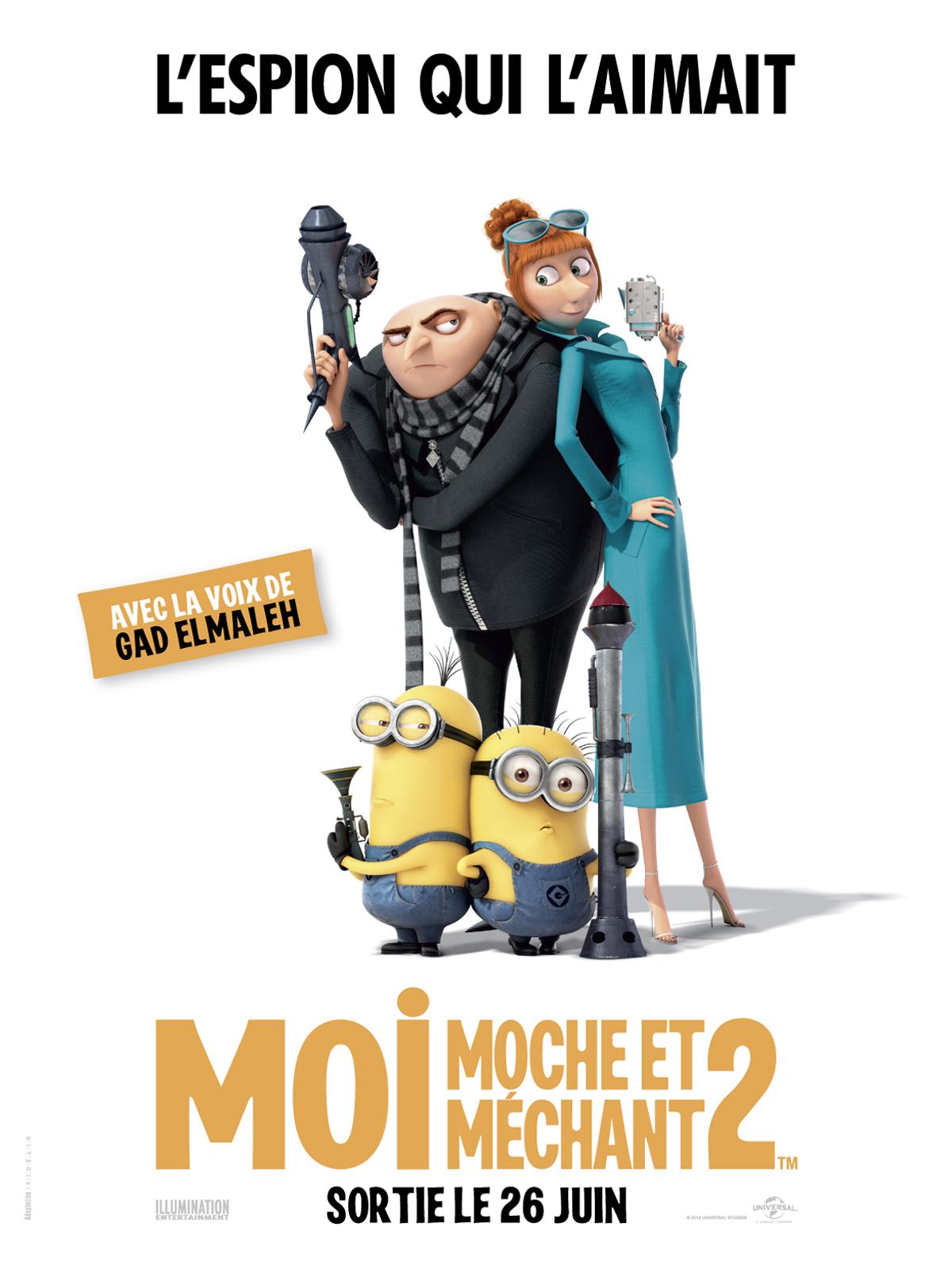 Film Moi Moche Et Méchant 1 : moche, méchant, Achat, Moche, Méchant, AlloCiné