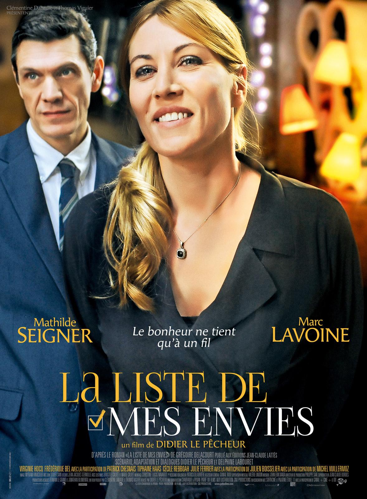 La Liste De Mes Envies (film) : liste, envies, (film), Achat, Liste, Envies, AlloCiné