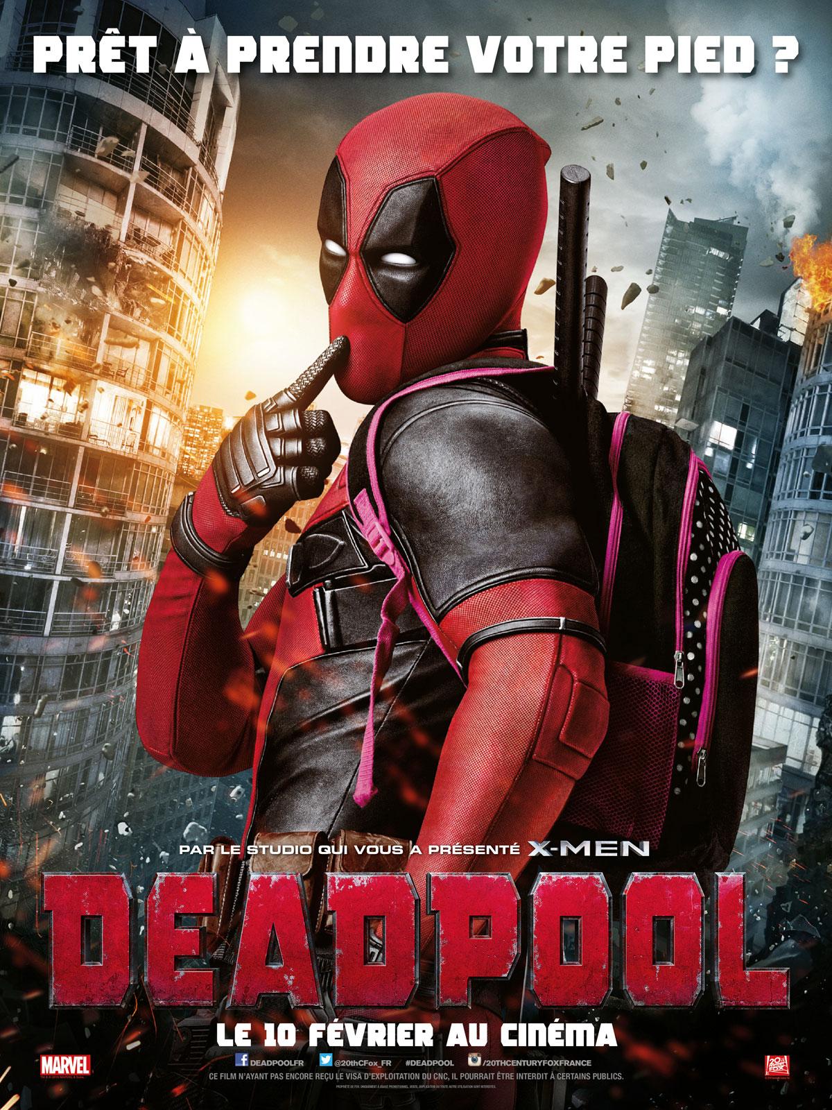 Deadpool : Affiche