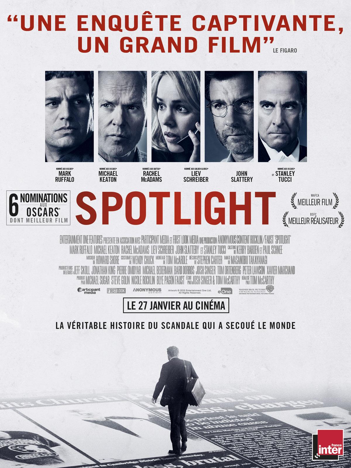 Spotlight de Tom McCarthy