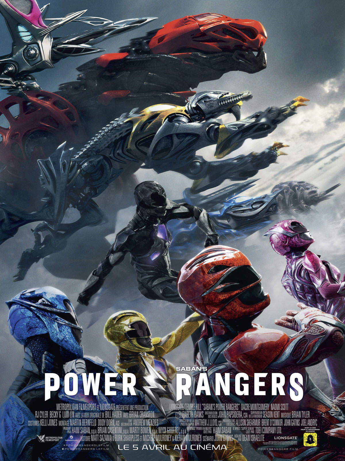 Power Rangers Français HDRiP