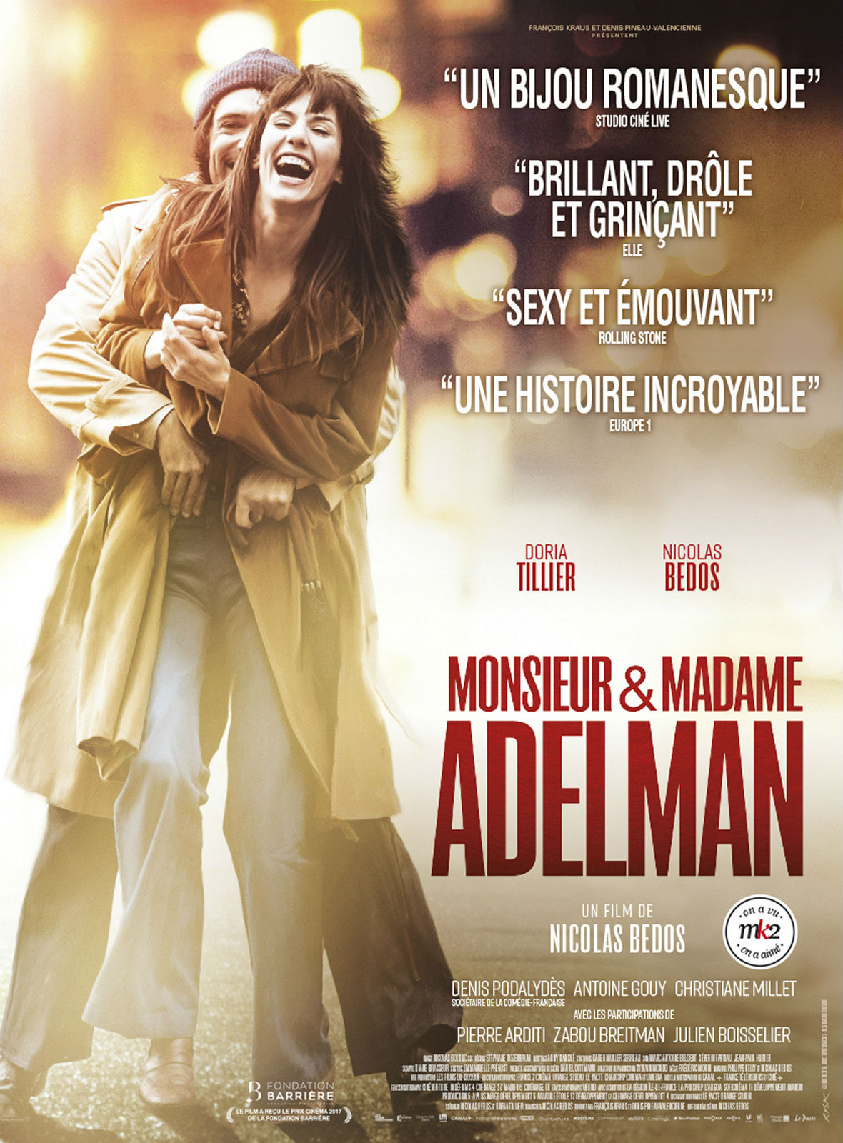 Monsieur & Madame Adelman Français BDRiP