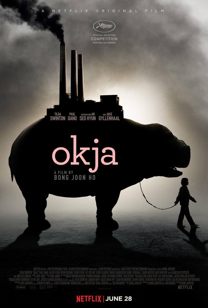 """Résultat de recherche d'images pour """"okja 2017 affiche"""""""