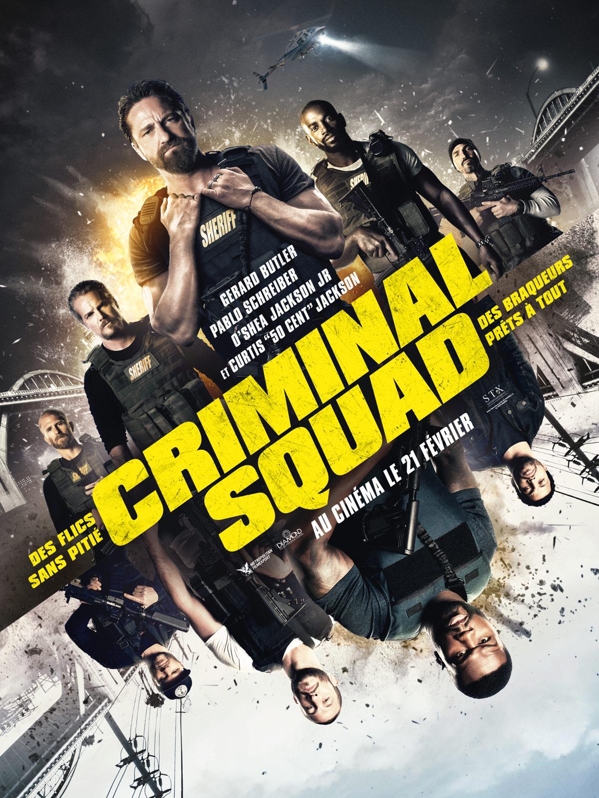 Criminal Squad Français TS