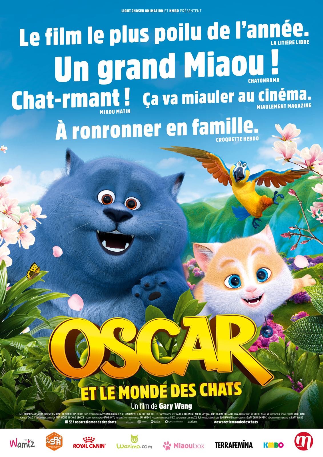 Oscar Et Le Monde Des Chats Torrent : oscar, monde, chats, torrent, Oscar, Monde, Chats, AlloCiné