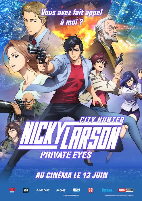 Nicky Larson Private Eyes Vf : nicky, larson, private, Nicky, Larson, Private, AlloCiné
