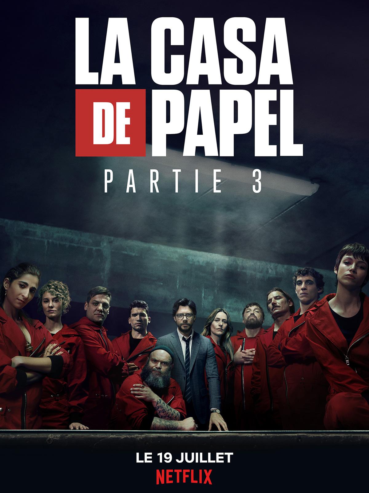 La Casa De Papel Saison 3 Episode 2 Streaming : papel, saison, episode, streaming, Papel, Saison, AlloCiné