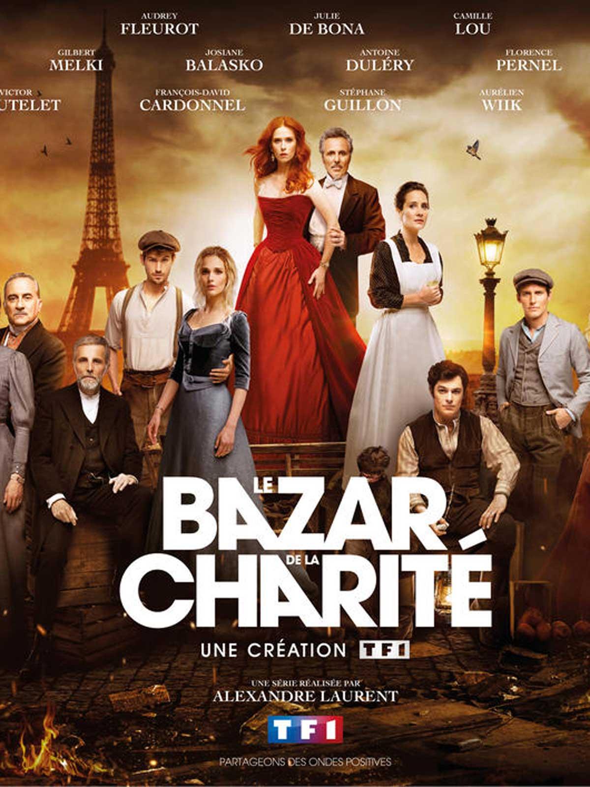 L'incendie Du Bazar De La Charité : l'incendie, bazar, charité, Bazar, Charité, Série, AlloCiné
