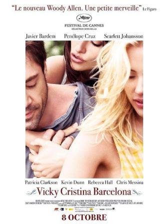 Vicky Cristina Barcelona : affiche