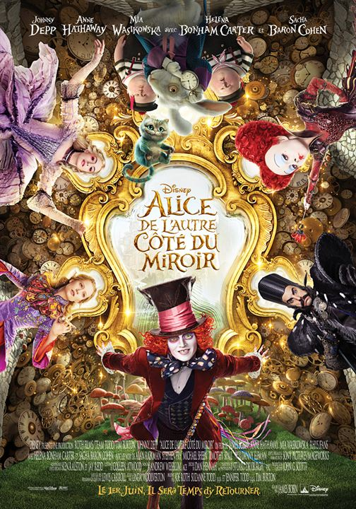 Alice de l'autre côté du miroir : Affiche