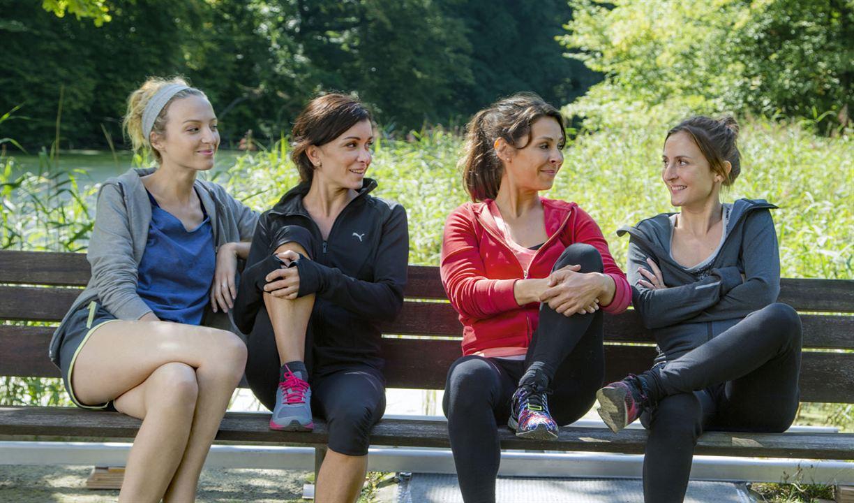 Faut pas lui dire : Photo Camille Chamoux, Jenifer Bartoli, Stéphanie Crayencour, Tania Garbarski