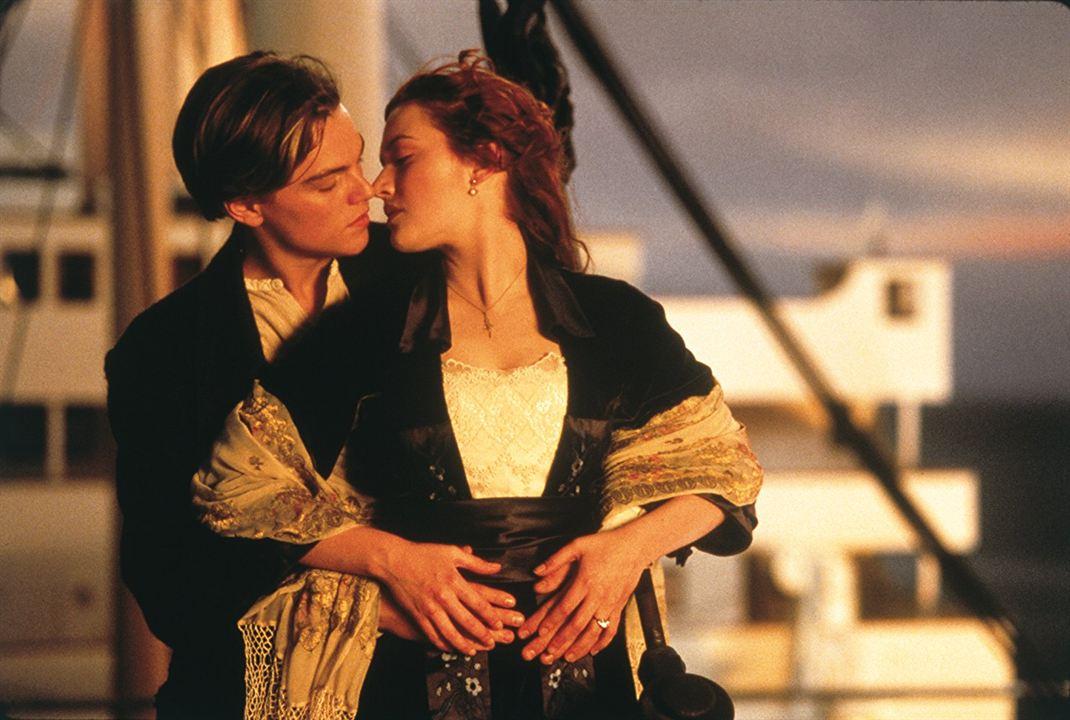 Titanic : Photo Kate Winslet, Leonardo DiCaprio