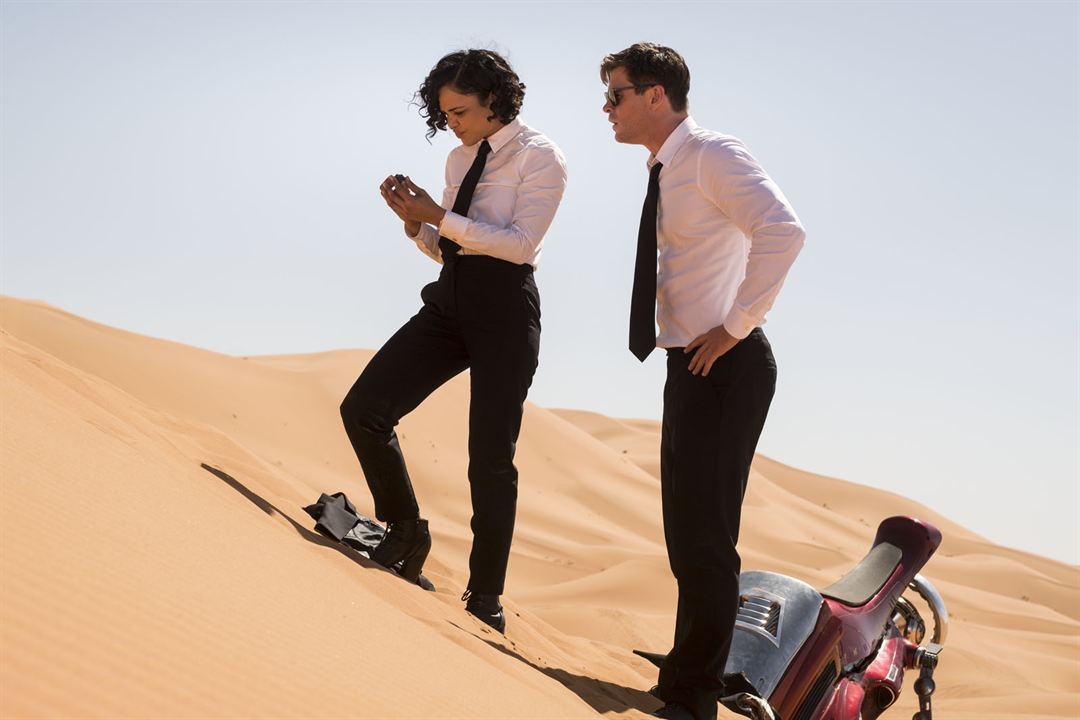Men In Black: International : Photo Chris Hemsworth, Tessa Thompson