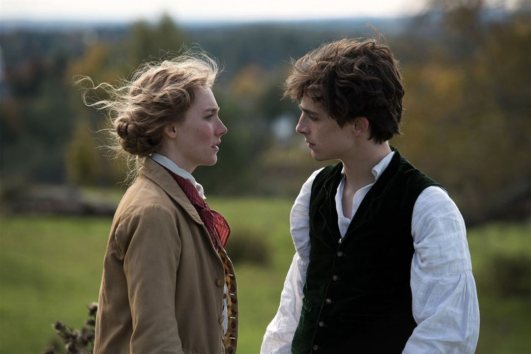 Les Filles du Docteur March : Photo Saoirse Ronan, Timothée Chalamet