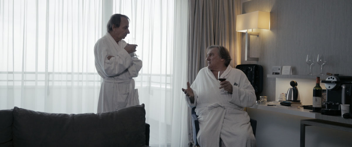 Thalasso : Photo Gérard Depardieu, Michel Houellebecq