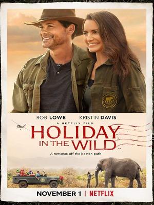 Un safari pour Noël : Affiche