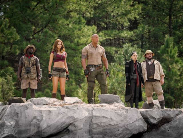 Jumanji: next level : Photo Awkwafina, Dwayne Johnson, Jack Black, Karen Gillan, Kevin Hart