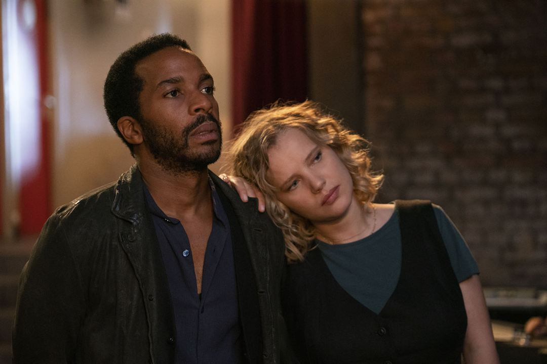 Photo Andre Holland, Joanna Kulig