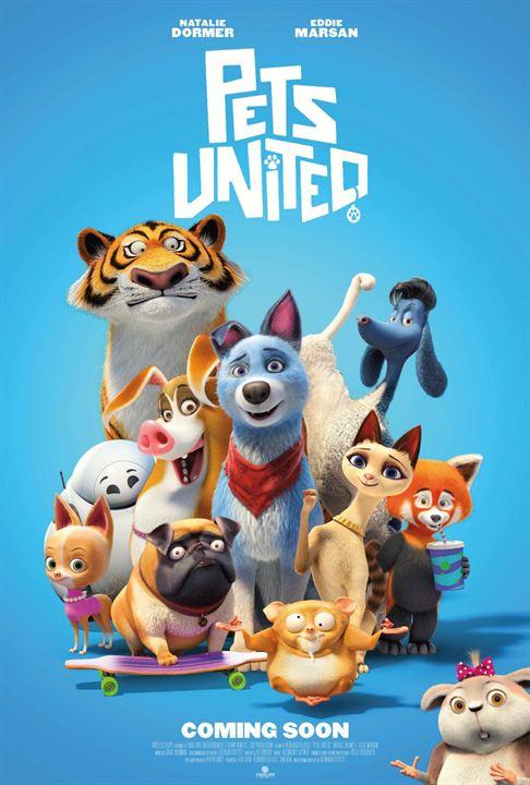 Pets United : L'union fait la force : Affiche