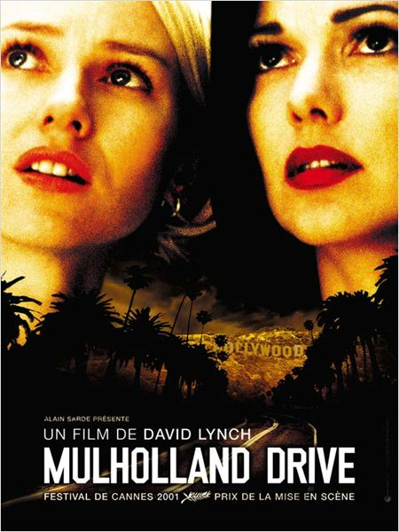 Mulholland Drive : Affiche David Lynch, Laura Elena Harring, Naomi Watts