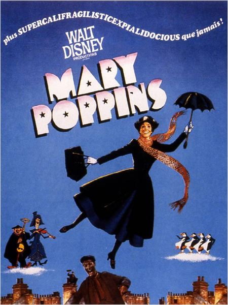 Mary Poppins : Affiche Robert Stevenson