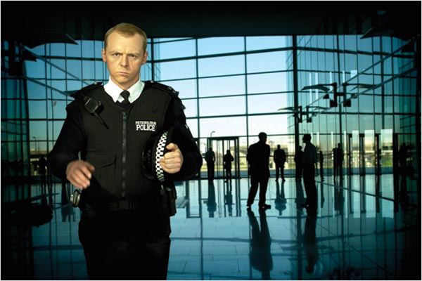 Hot Fuzz : Photo Simon Pegg