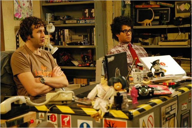 The IT Crowd : Photo Chris O'Dowd, Richard Ayoade