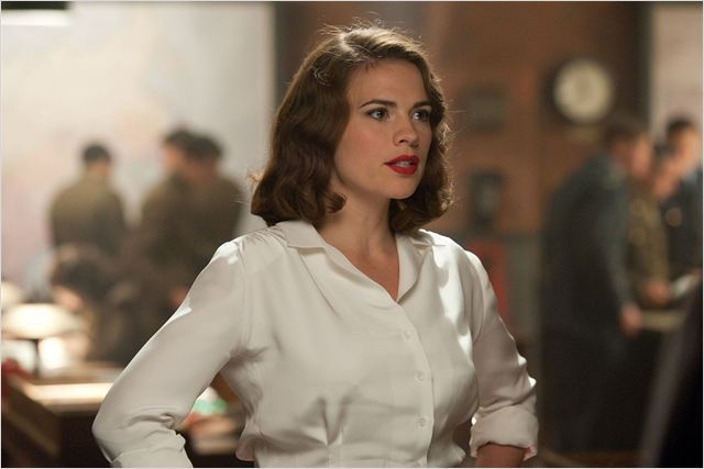 Captain America : First Avenger : photo Hayley Atwell, Joe Johnston