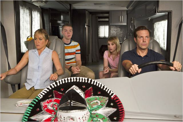 Les Miller, une famille en herbe : Photo Emma Roberts, Jason Sudeikis, Jennifer Aniston, Will Poulter