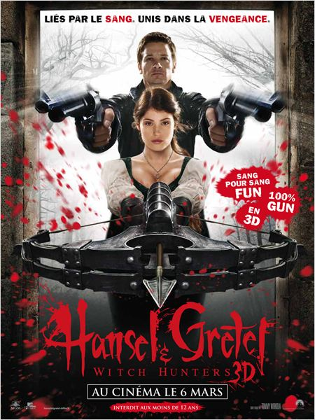 Hansel & Gretel : Witch Hunters |FRENCH| [TS]