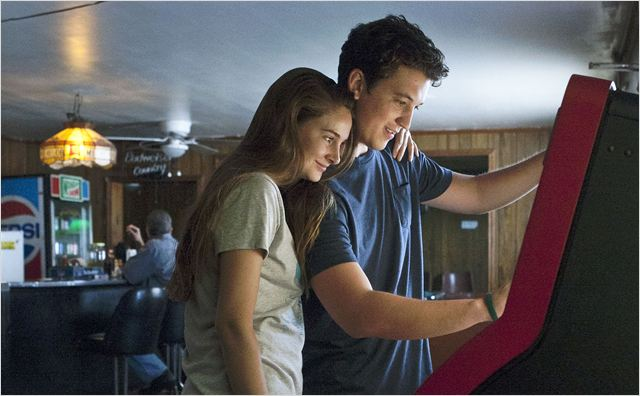 The Spectacular Now : Photo Miles Teller, Shailene Woodley