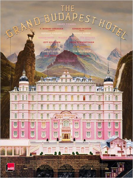 Affiche - Grand Budapest Hotel