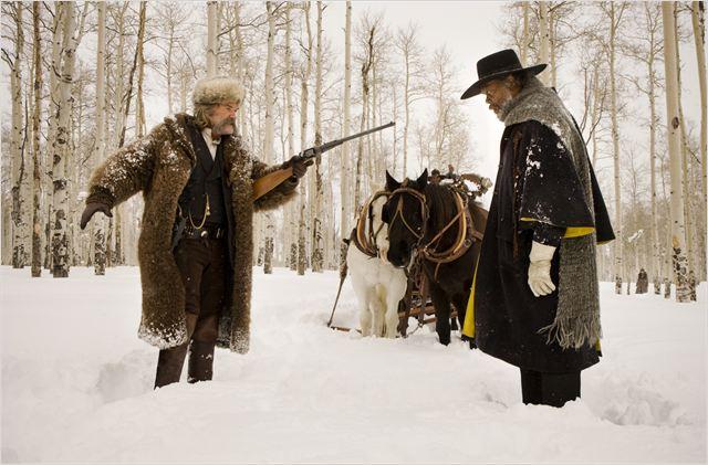 Les Huit salopards : Photo Kurt Russell, Samuel L. Jackson