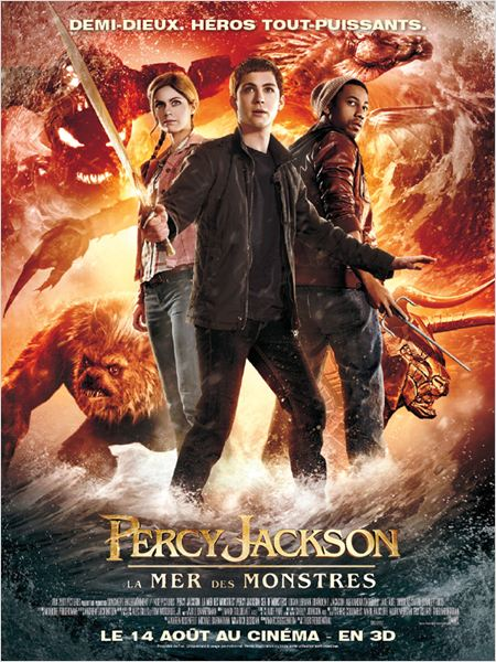 Telecharger Percy Jackson : La mer des monstres DVDRip French