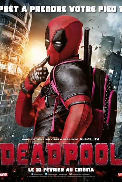 Deadpool [Blu-Ray 720p] [MULTI] Truefrench