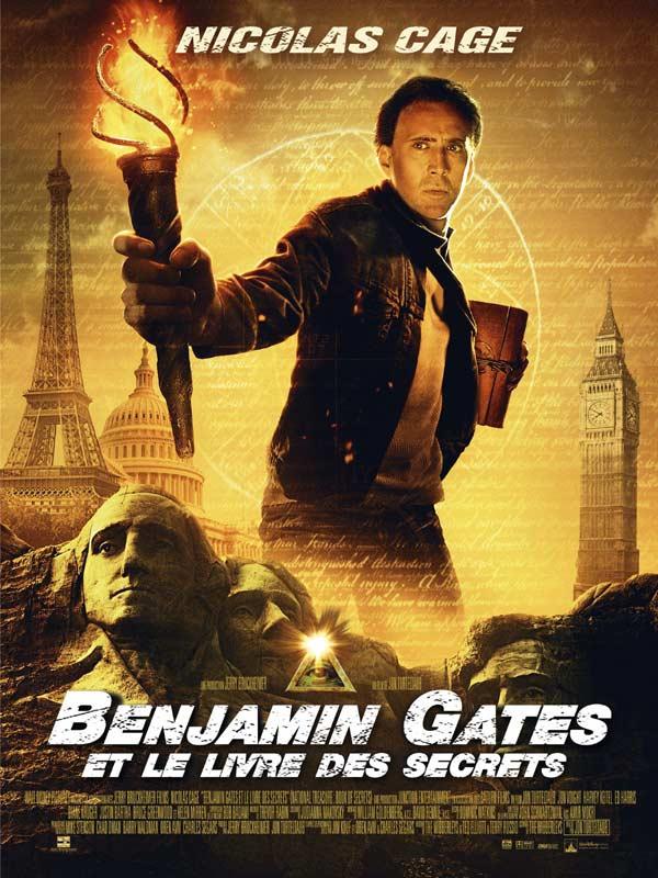 Benjamin Gates 1 Streaming : benjamin, gates, streaming, Benjamin, Gates, Livre, Secrets, AlloCiné