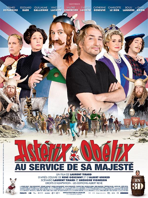 Astérix Et Obélix Chez Les Bretons : astérix, obélix, bretons, Astérix, Obélix, Service, Majesté, AlloCiné