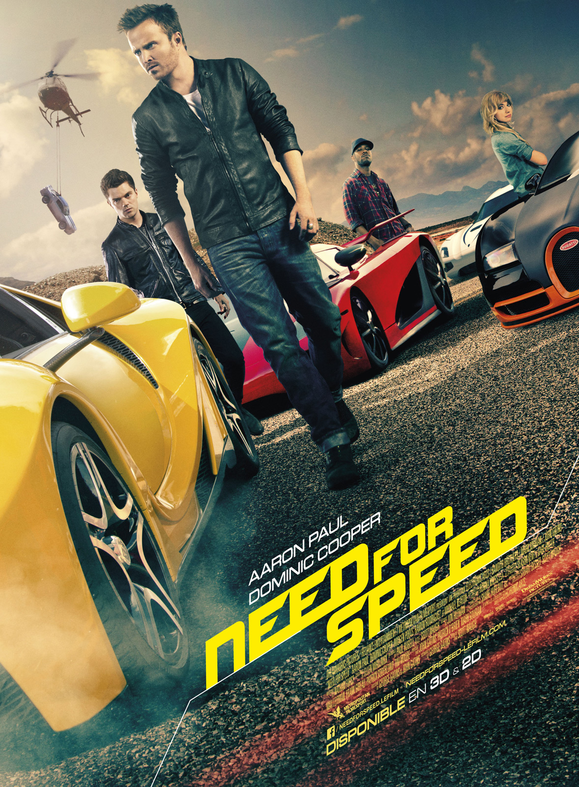 Need For Speed Streaming : speed, streaming, Achat, Speed, AlloCiné