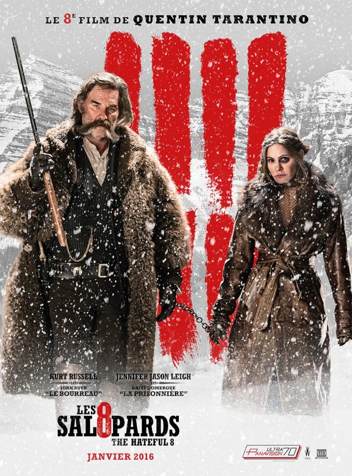 Les Huit Salopards : le nouveau western de Tarantino